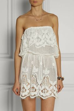 white dress from Asos - All Dressed Up In Love Blog
