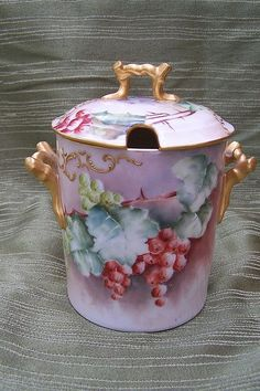 Vintage French Meissner Limoges Fragonard Porcelain