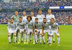 EQUIPOS DE FÚTBOL: REAL MADRID contra Apoel de Nicosia 13/09/2017 Liga de Campeones