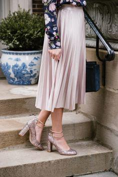 Midi Skirt + Glitter