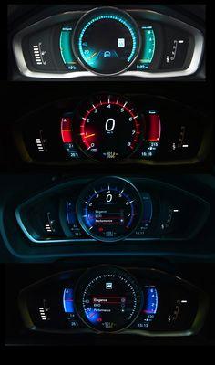 2013 Volvo V40 Performance instrument cluster