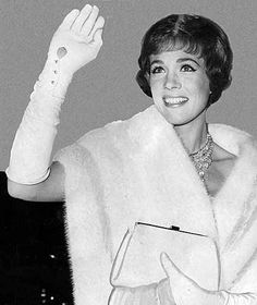 1965 Julie Andrews at the 37th Annual Academy Awards Winner Oscar