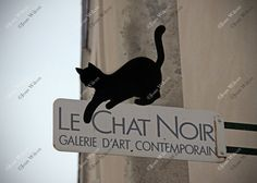 Le Chat Noir Montmartre Paris Gallery Cat Sign France Original Fine Art Photography Wall Art Photo Print. Another photo from my trip in Paris is this cute cat sign for a gallery we visited in Montmartre the highest point in Paris on a hill in the artist district. This photo will be loved by any cat lover or lovers of Paris! Beautiful, unique and all original, prints by Joan Wilcox- Glanville. Each print comes in a clear resealable archive bag ready for framing. All are original prints and...