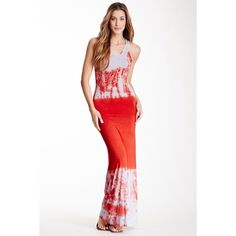 """Spotted while shopping on Poshmark: """"•Go Couture Red Dip-Dye Maxi Dress•""""! #poshmark #fashion #shopping #style #Go Couture #Dresses & Skirts"""