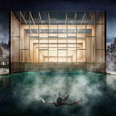 Nicolás Valencia - Arquitectura para la Salud, Concursos, Obras , Bodega&Piedrafita Arquitectos, letonia, Liepāja, primer lugar, Spa