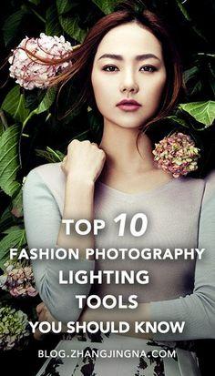 Photography Tips - Top 10 Studio Fashion Photography Lighting Tools