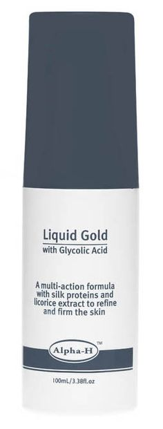 alpha-h Liquid Gold Solution Revitalising and Firming SolutionLicorice is one of the mainstays oftraditional Chinese medicine and has been used for over 3,000 years asa tonic for the heart, spleen, ulcers, coughs, colds and skin http://www.comparestoreprices.co.uk/health-and-beauty/alpha-h-liquid-gold-solution.asp