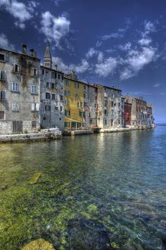 ✮ Rovinj is an ancient fishing port in Northwest Croatia near Slovenia