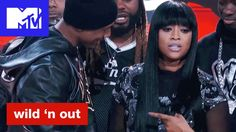 Nick Cannon Can't Handle Trina's Fine Ass & Michael Blackson Goes In   Wild 'N Out   #Wildstyle - YouTube