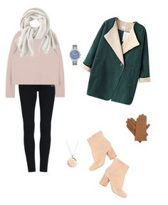 """Untitled #8"" by nikensuryadi on Polyvore featuring Chicnova Fashion, Maison Margiela, Wrap, Isotoner, Kate Spade and GUESS"
