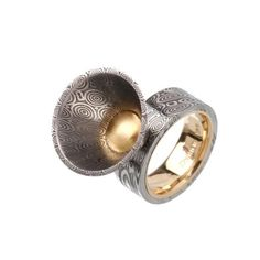 G. Phil Poirier | One-of-a-Kind | Sculptural Cone Ring :  contemporary jewelry designer rings jewelry