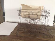 On stock Photo : Anda Roman Roman, Wire, Sculpture, Stock Photos, Interior Design, Lighting, Beautiful, Atelier, Nest Design