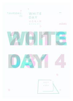 直式  WHITE DAY