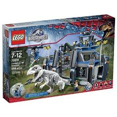 Jurassic Park Lego Set Prepare for the movie with T-Rex set.