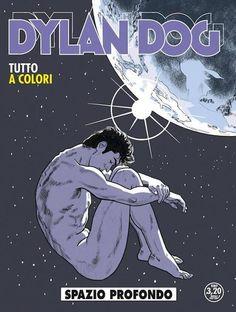 La copertina di Stano per Dylan Dog 337 - Spazio Profondo, il primo numero del rilancio del personaggio