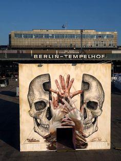 Street Art by Alexis Diaz & Case Maclaim in Berlin, Germany
