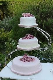 Image result for 3 tier wedding cake stand