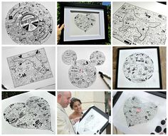 Luckii Arts: Memory Illustrations for special events