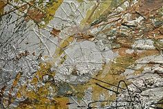 Silvered and golden strokes of brush painting background.