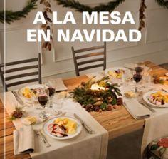 Colección de recetas A LA MESA EN NAVIDAD