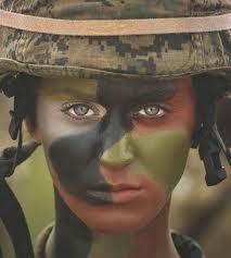 army camo face paint