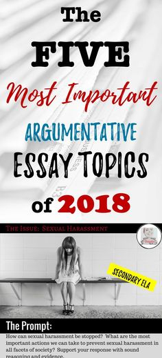Topics For High School Essays The Five Most Important Argumentative Essay Topics Of  The Importance Of Learning English Essay also What Is The Thesis In An Essay  Best Argumentative  Persuasive Writing Images In   Examples Of Essays For High School