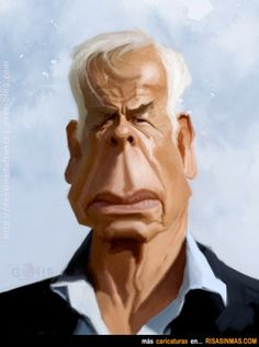 Caricatura de Lee Marvin
