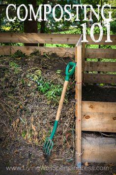 Composting 101   How to compost   Beginner Gardening Tips   Budget Garden via lwsl