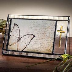J Devlin Clear Glass Photo Frame - Amber Fused Glass Cross - 4x6 Horizontal J Devlin Art Glass http://www.amazon.com/dp/B00UI4L8TK/ref=cm_sw_r_pi_dp_tEk1wb1SVXBAC