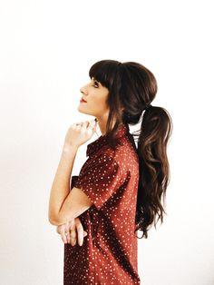 New Darlings - Hair - Bangs - Ponytail