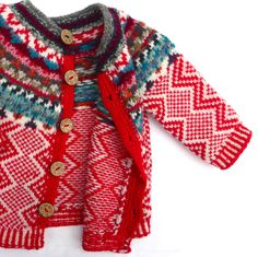 Sophie Ochera gorgeous hand knitted childrens cardigans and jumpers from Ireland. Beautiful colours and soft knitwear for children and babies Knitting For Kids, Baby Knitting, Warm Outfits, Kids Outfits, Fair Isle Pattern, Fair Isle Knitting, Wool Cardigan, Pulls, Bunt