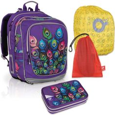 Školní batoh Topgal CHI 697 I SET LARGE a dopravné ZDARMA ffb8450804
