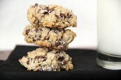 Coconut Chocolate Chip Oatmeal Cookies (gluten free, dairy free, and vegan....and 100% amazing)