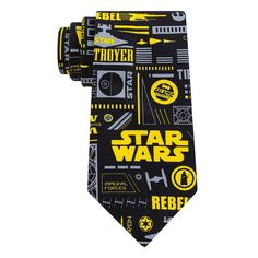 Men's Star Wars Tie, Black