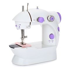 new arrival Mini Handheld sewing machines Dual Speed Double Thread Multifunction EU Electric Mini Automatic Tread Rewind