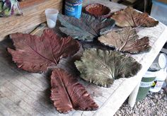 In the continuing series of posts in the category of How To, may we present the instructions, with accompanying photos, of the way we, here at the Fairegarden, go about making leaf castings? Let us…