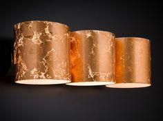 Applique murale de feuille de cuivre BRICK   Applique murale - Metal Lux di Baccega R. & C.