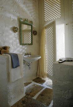 Badezimmergestaltung Bodenbelag Natursteine