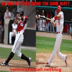 Do MLB Hitters swing the same way? The answer to this question and proof can be found below. More free hitting tips and tricks can be found at venombaseball.net/blog