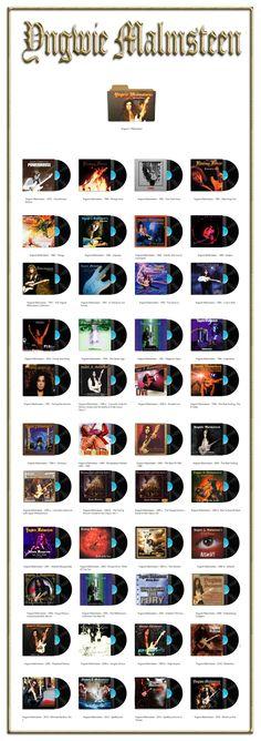 Album Art Icons: Yngwie Malmsteen