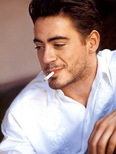 Young and dangerous Robert Downey Jr.