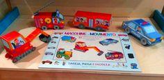 libro gioco - MACCHINE IN MOVIMENTO Edizioni del Baldo - by irene mazza