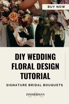 Calling all floral designers, wedding planners, florists and event planners! Learn exactly how to create signature bridal bouquets and bridesmaid bouquets. Have you ever tried to make a lush, organic bouquet only to have it end up looking like a Pinterest wedding fail?! Don't Worry. I'm here to help! If you're creating flower arrangements, bouquets or centre pieces this training is for you. I'll show you how to create lush flowing wedding flowers for your brides. Wedding Fail, Diy Your Wedding, Wedding Ideas, Create A Signature, Diy Bouquet, Wedding Pinterest, Floral Wedding, Wedding Flowers, Bridesmaid Bouquets