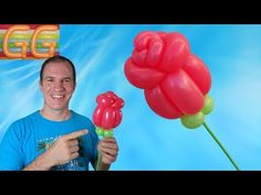 how to make a balloon flower Balloon Crafts, Balloon Decorations, Balloon Flowers, The Balloon, Lovers Day, Balloon Animals, Ideas Para Fiestas, Valentine Gifts, Craft Gifts