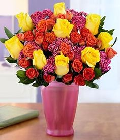 bright blooms for mom in day from pro flowers on