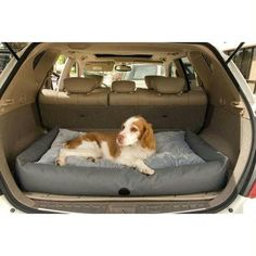 "K&h Pet Products Travel - Suv Pet Bed Small Gray 24"" X 36"" X 7"""