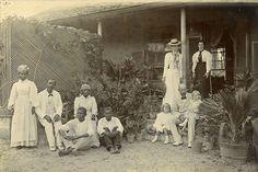 Families on Porch, Jamaica