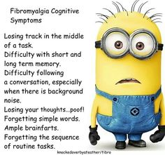 Cognitive symptoms - yup.  I experience all of these to a varying degree most days.