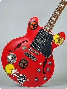 Alvin Lee Gibson Custom ES-335