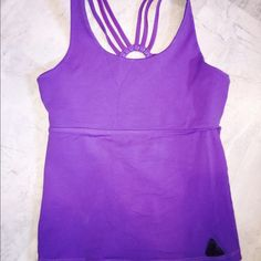 UpVibe Fitness Tank Sexy purple fitness tank by an awesome brand, Upvibe. Tight fit, washes well, like new/ excellent condition! I can model this if you need to see the cut. UpVibe Tops Tank Tops